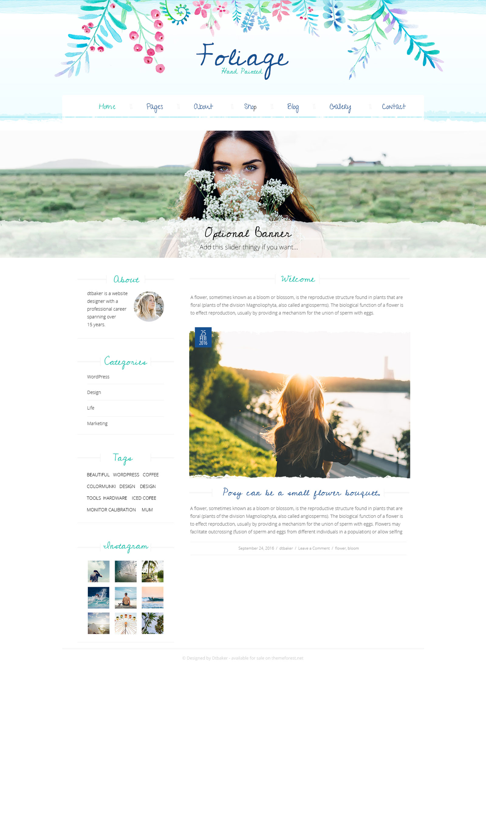 foliage-wp-theme-by-dtbaker