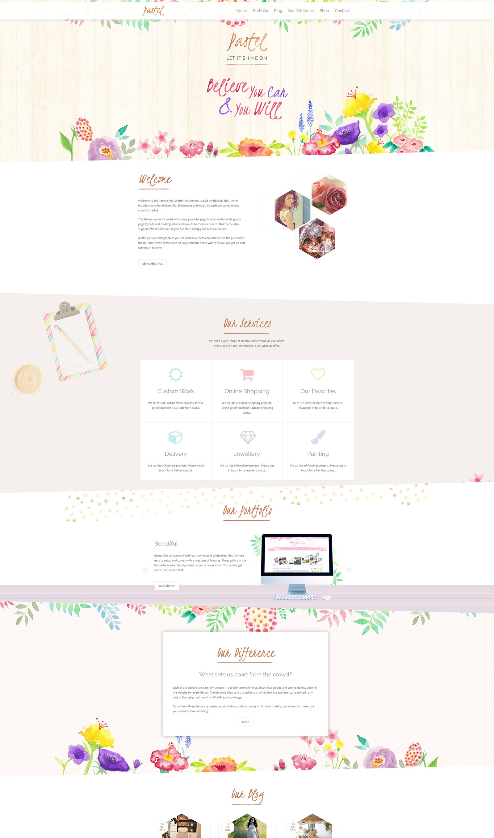 pastel-wp-theme-by-dtbaker