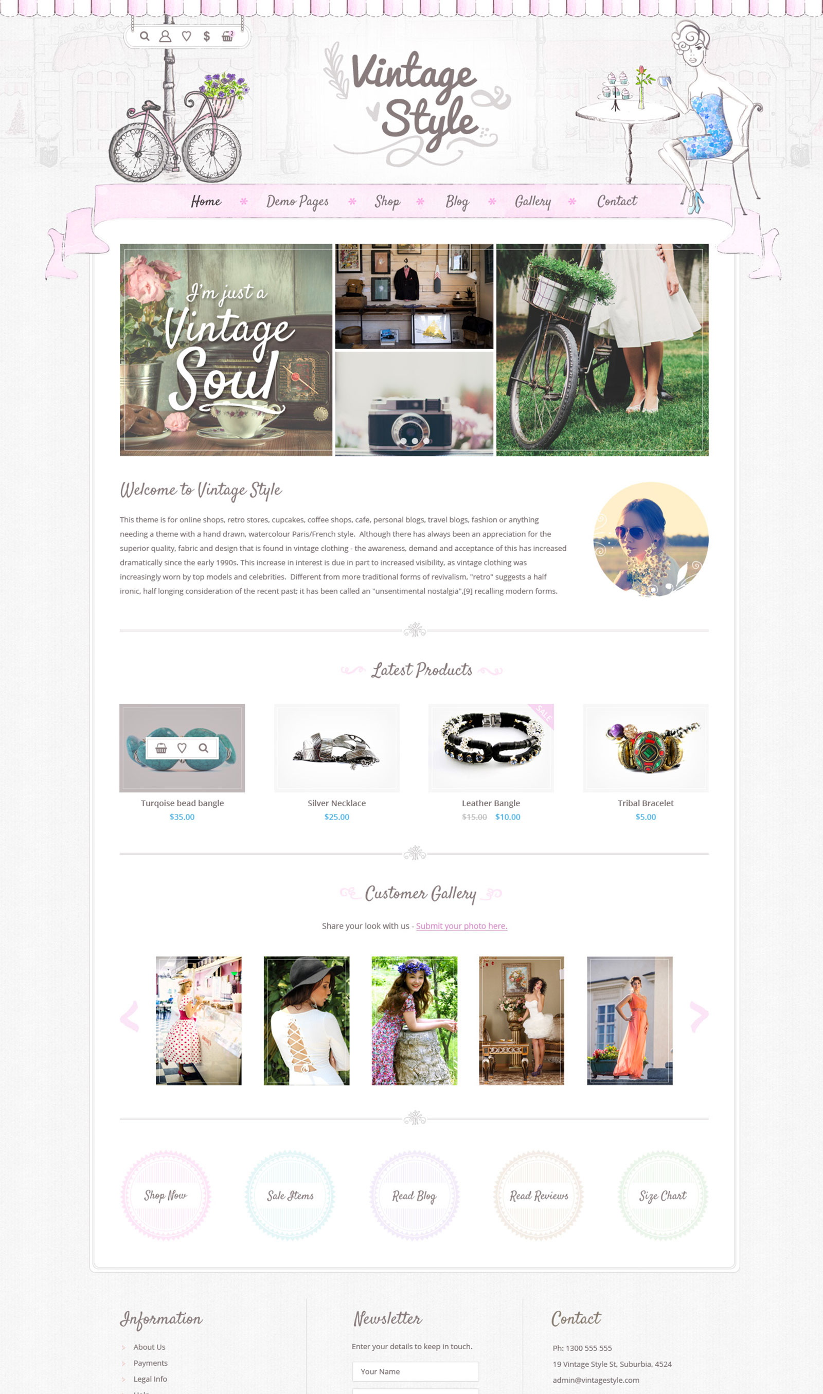 vintage-style-wp-theme-by-dtbaker